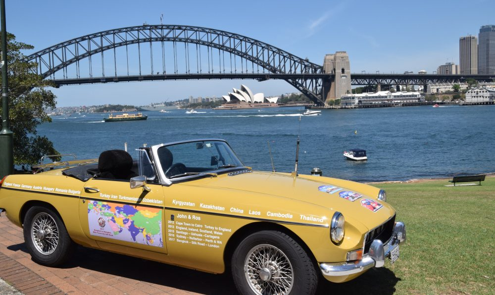 MG Goldie's World Travels
